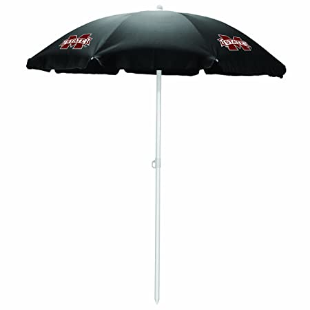 Picnic TIME NCAA Mississippi State Bulldogs Portable Sunshade Umbrella