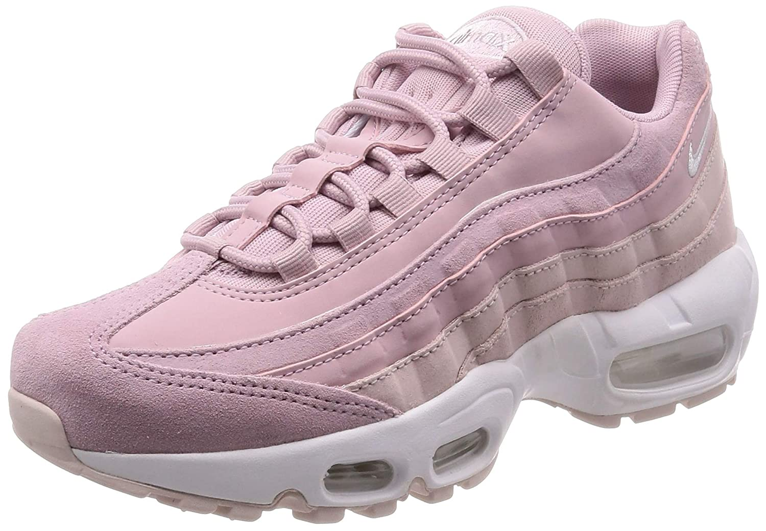 revendeur b3d8a 5c866 Amazon.com | Nike Women's Air Max 95 PRM Plum Chalk/Barely ...