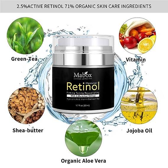 ... MABOX Loción Hidratante Blanqueadora Aceite Hidratante Crema Hidratante Suplemento de Ácido Hialurónico con vitamina A, D, E - 50 ml: Amazon.es: Salud y ...