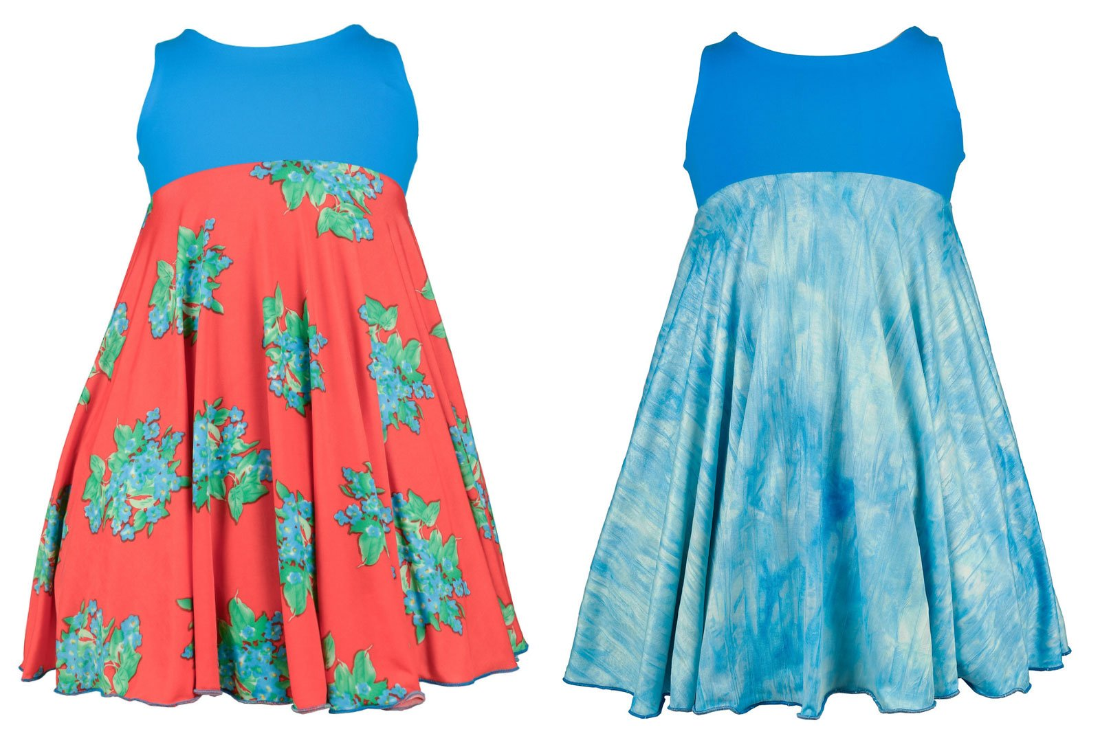 Spinning Tales Forever Blossoms Spin Dress - Reversible (2/3)