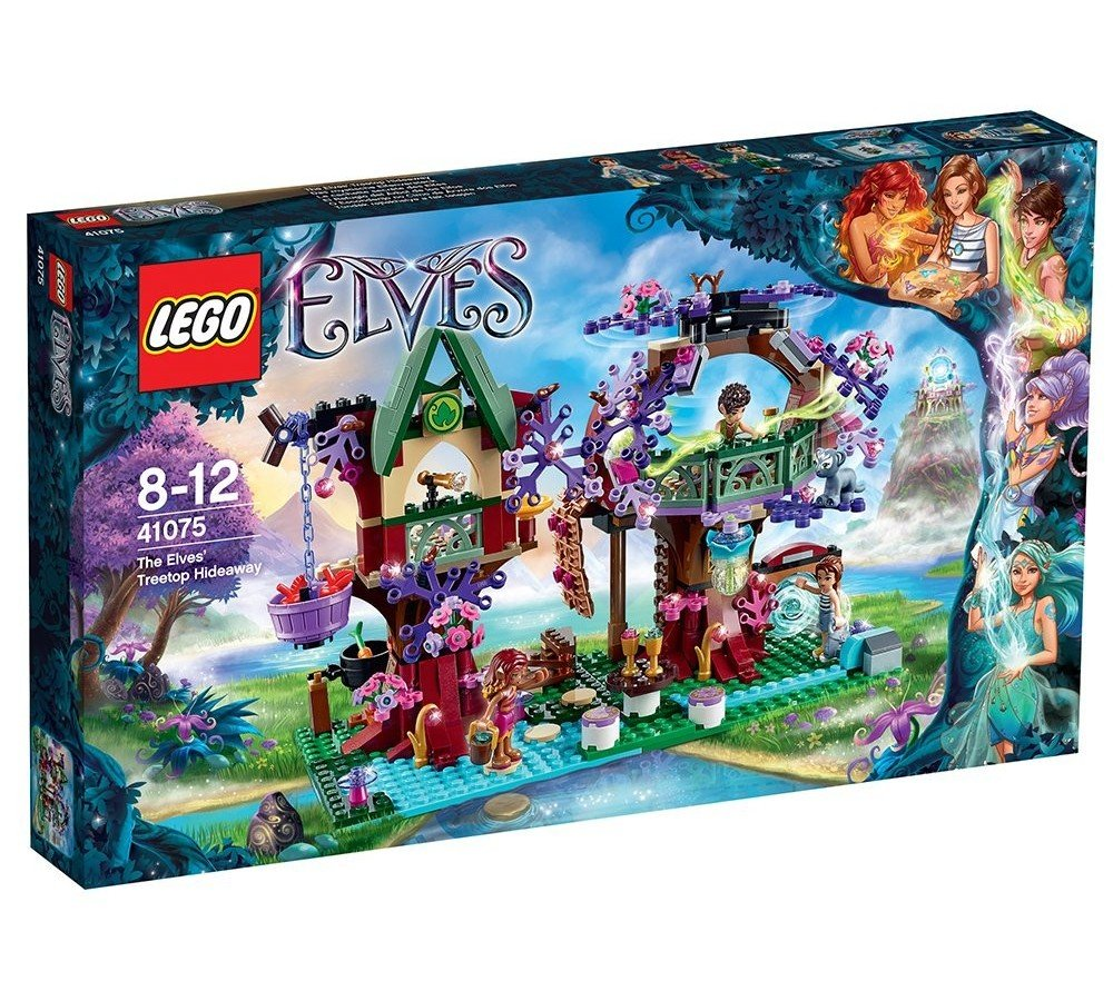 LEGO Elves Treetop Hideaway Kids Magical Building 505 Piece Playset | 41075