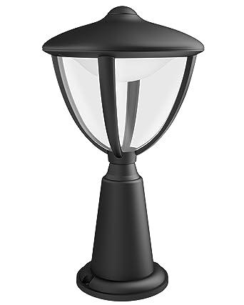 Philips Luminaire Extrieur Led Potelet Robin Noir AmazonFr