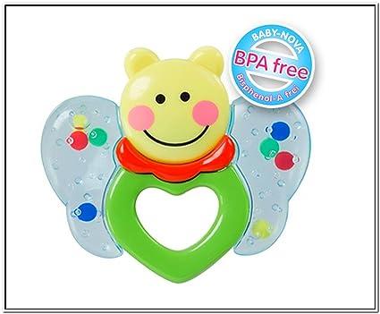 Baby Nova - Mordedor, diseño de mariposa con sonajero ...