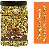 Jaybee's Nuts Pumpkin Seeds Pepitas - Roasted Unsalted (32 oz) Fresh, Vegetarian, Vegan Friendly, Gluten Free, Keto…