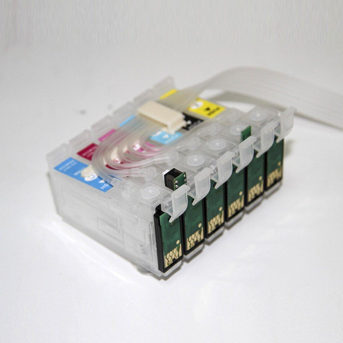 ecocolor CISS sistema continuo de tinta para cartuchos Epson ...