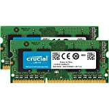 Crucial 16Go Kit (8Gox2) DDR3L 1600 MT/s (PC3-12800) SODIMM 204-Pin Memory for Mac - CT2C8G3S160BMCEU
