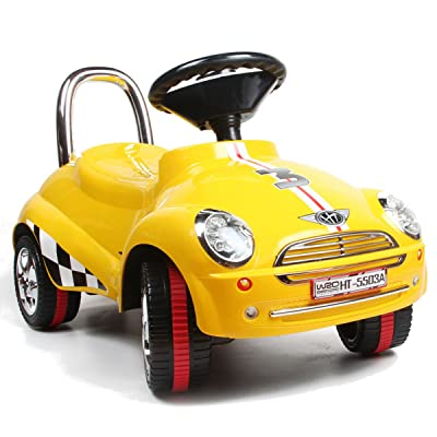 Amazing Tech Depot 3-in-1 Ride On Car Toy Gliding Scooter with Sound & Light (Color May Vary): Toys & Games