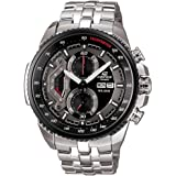 Casio Edifice Tachymeter Chronograph Black Dial Men's Watch - EF-558D-1AVDF (ED436)