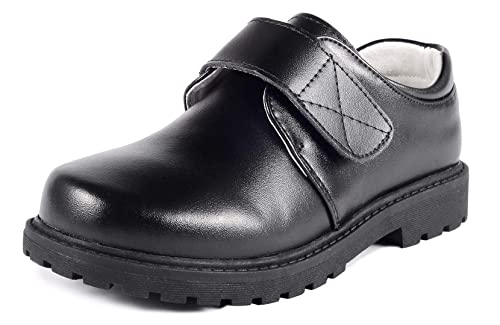 Amazon.com: LIYZU - Zapatos de uniforme escolar de piel para ...