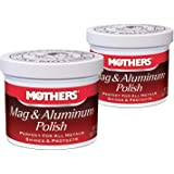 Car Metal Polish, 5 oz. Mothers Mag and Aluminum Polish (2)