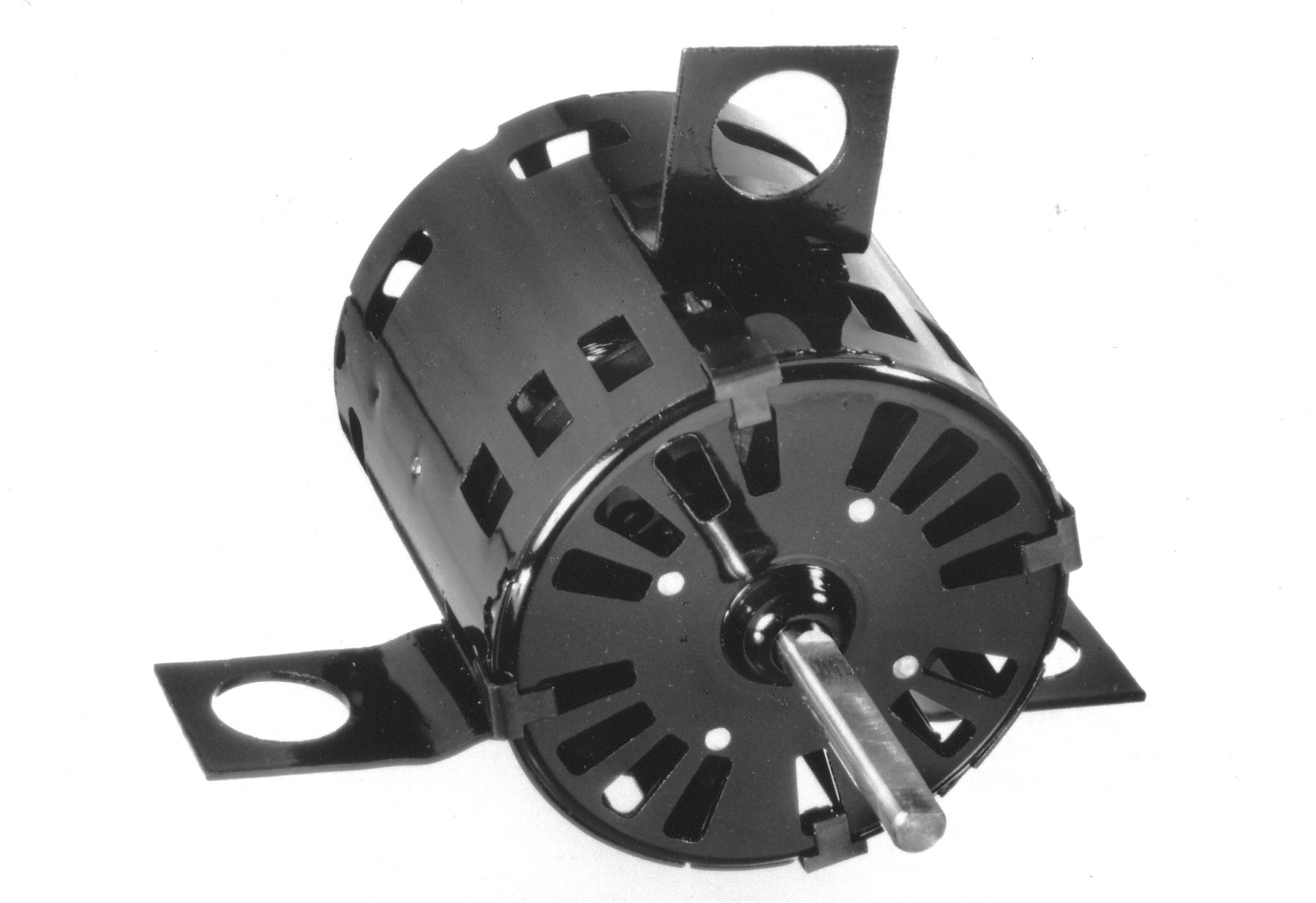 Fasco D1180 3.3'' Frame Open Ventilated Shaded Pole Flue Exhaust and Draft Booster Blower Motor withSleeve Bearing, 1/20HP, 3300rpm, 115V, 60Hz, 1.9 amps