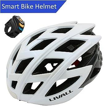 LIVALL ® BH60 Casco de Bicicleta Cascos de Ciclo Bluetooth Smart Safety Casco de Bicicleta Casco