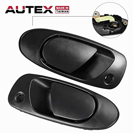 55b9d56634bf5 Amazon.com: AUTEX 2pcs Exterior Front Left Right Door Handle Outside ...