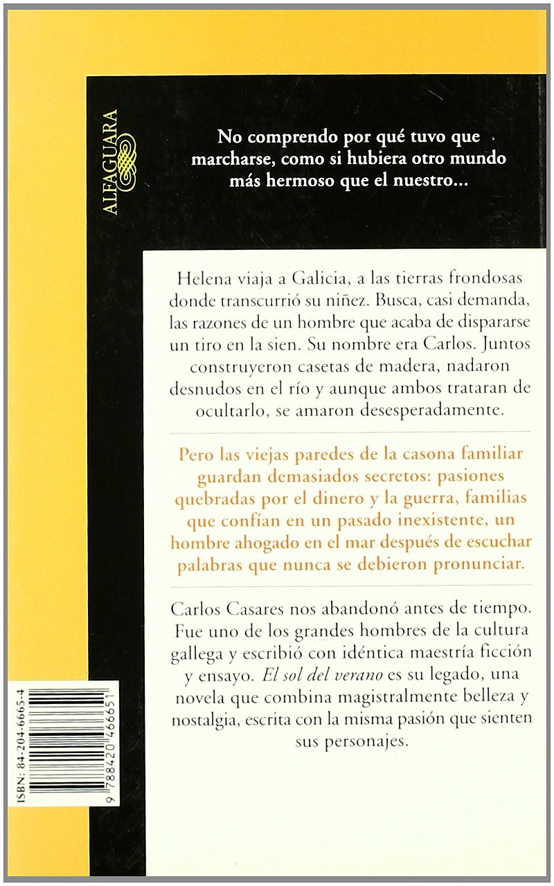 El Sol del Verano (Spanish Edition): CARLOS CASARES: 9788420466651: Amazon.com: Books