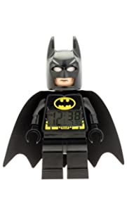 LEGO Kids' 9005718 DC Super Heroes Batman Mini-Figure Light Up Alarm Clock Review