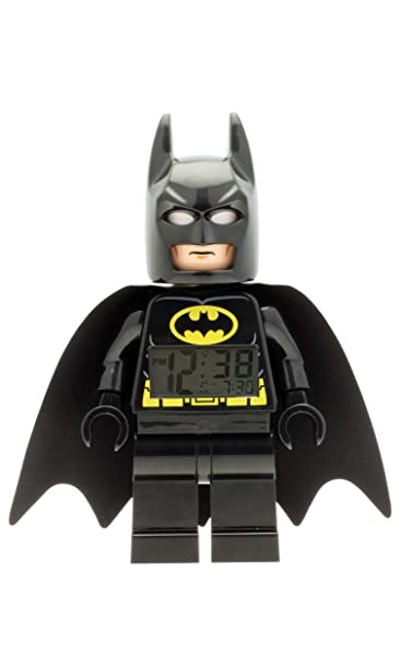 LEGO Kids' 9005718 DC Super Heroes Batman Mini-Figure Light Up Alarm Clock Review