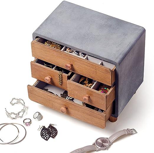 Balvi - Loft Caja para Guardar Joyas. Joyero de Madera.: Amazon.es: Juguetes y juegos
