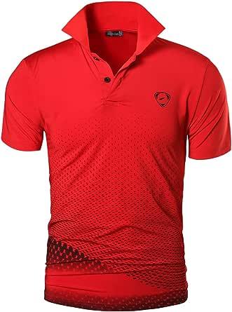jeansian Hombres Deportes Polo Shirt Poloshirt tee T-Shirt Tshirts ...