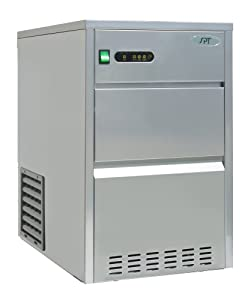 SPT IM-661C 66 lbs Automatic Stainless Steel Ice Maker, Silver