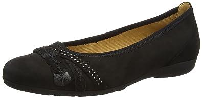 83d70fe1a2972 Gabor Ashmill, Women's Ballet Flats, Black (Black Nubuck), 9 UK (43 ...