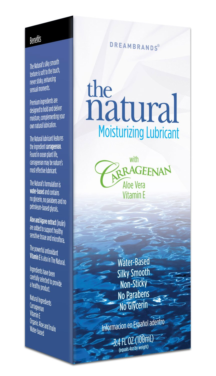Carrageenan Gently Natural Personal Lubricant 3.4 Oz