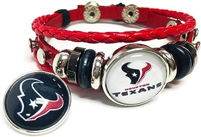 NFL Houston Texans Fan Band Bracelet
