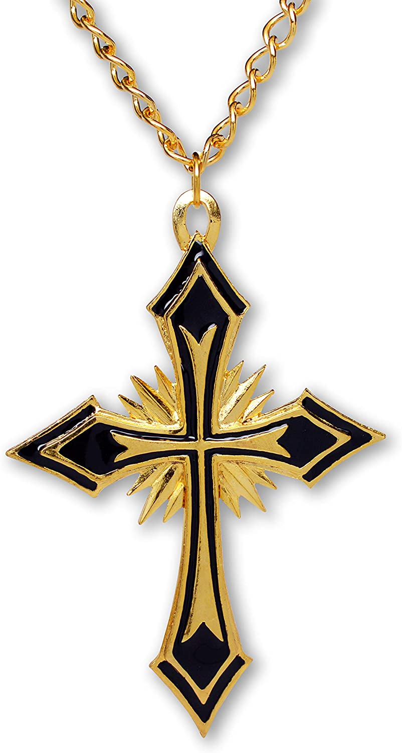Cross Necklace Renaissance Necklace Cross Jewelry Two Styles Cross Pendant Necklace Religious Jewelry