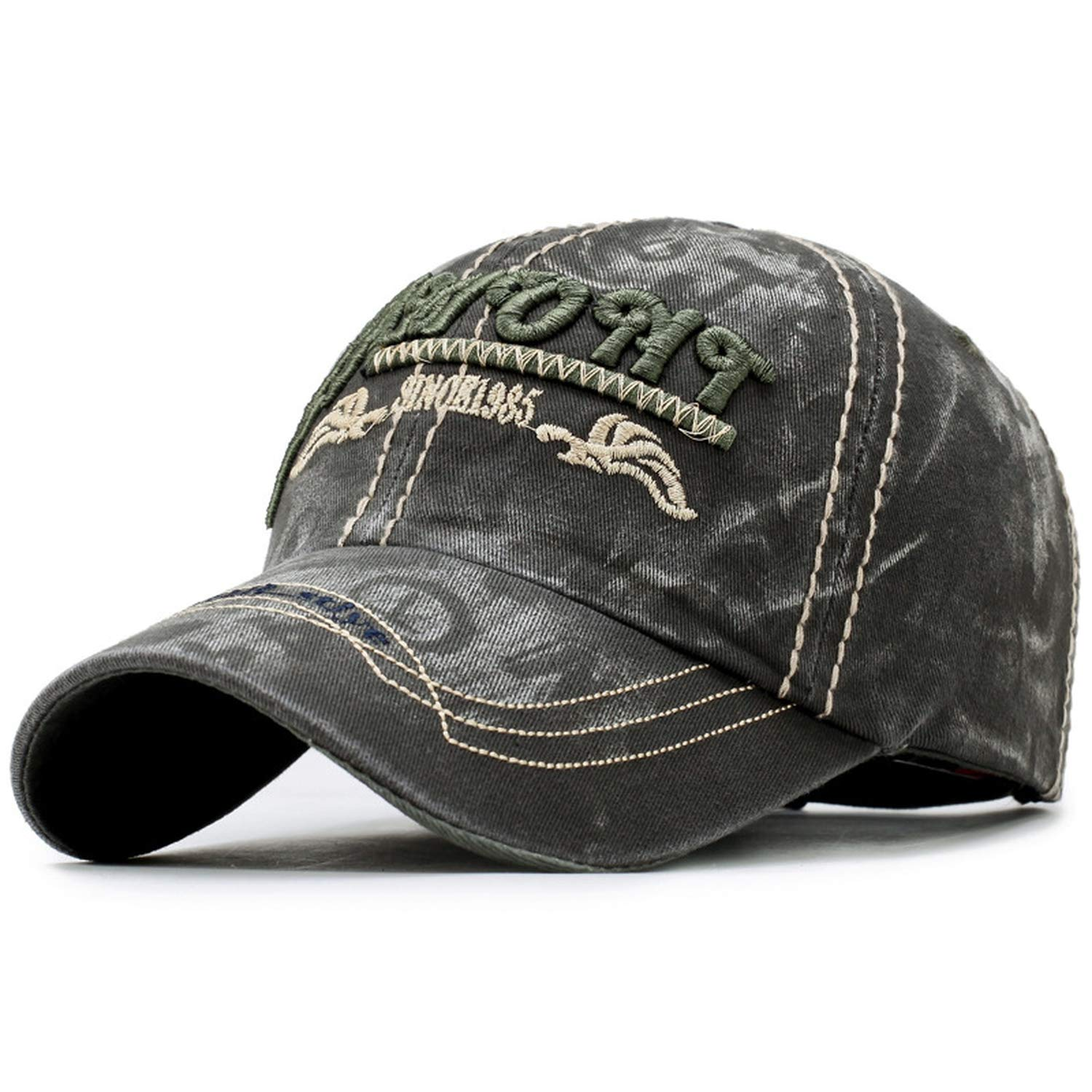 Bokun Baseball Caps Casual Washed Hat with Outdoor Caps for Men Women