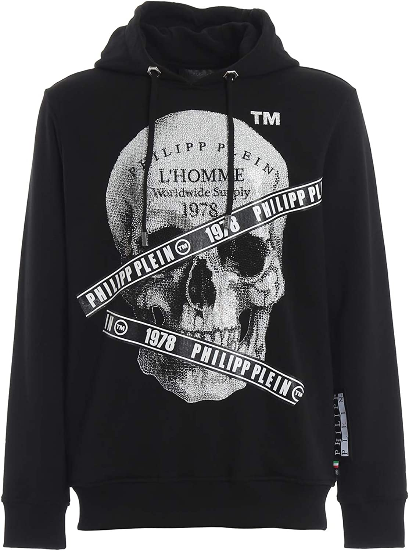 Philipp Plein Sweat Shirts Noir, L: : Vêtements