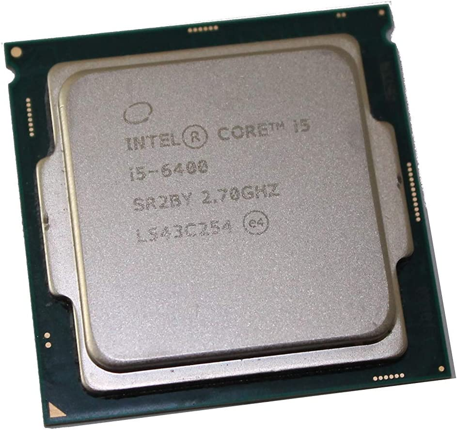 4-Core Desktop CPU Processor 6M Cache, 3.3GHz Turbo SR2BY Intel Core i5-6400