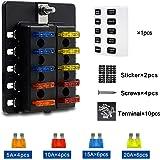 Aerzetix Pack de 4 AGU Fusibles para Coche Subwoofer Amplificador 60A