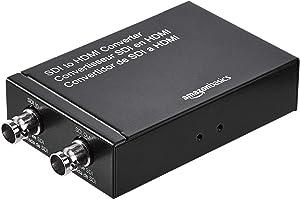 AmazonBasics SDI to HDMI Converter (720p/1080p) with USB-A Power Supply