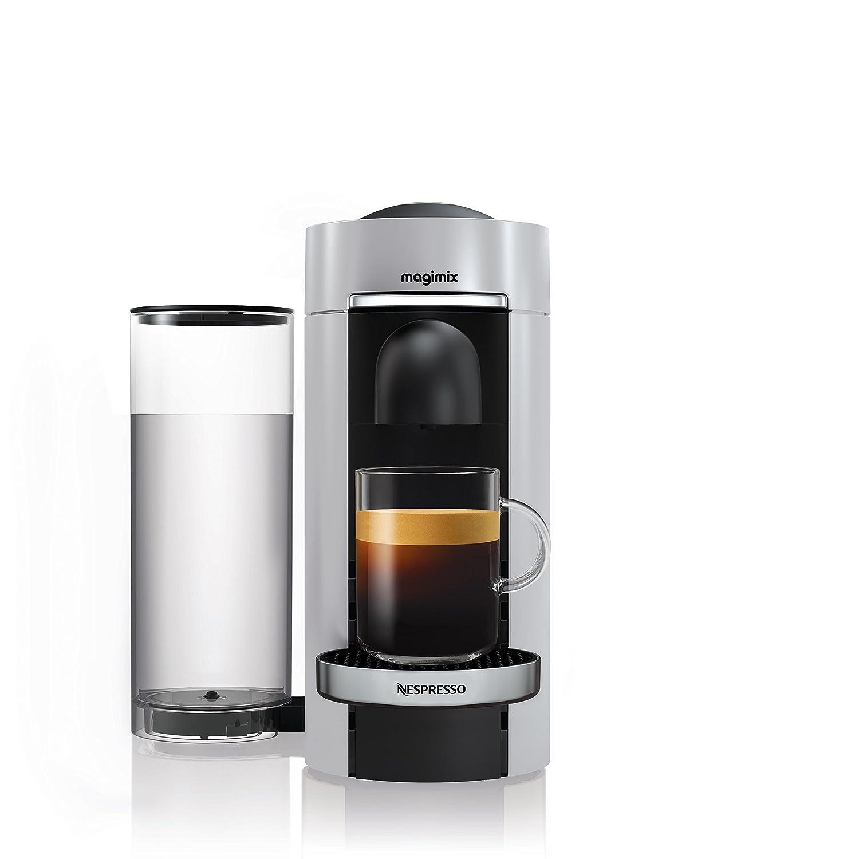 Nespresso Vertuo Plus & Milk, Silver finish by Magimix