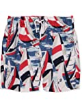 Nautica Boys' Swim Trunk with UPF 50+ Sun Protection