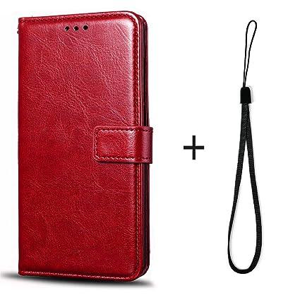 Amazon.com: Funda de piel tipo cartera para LG Magna H502F ...