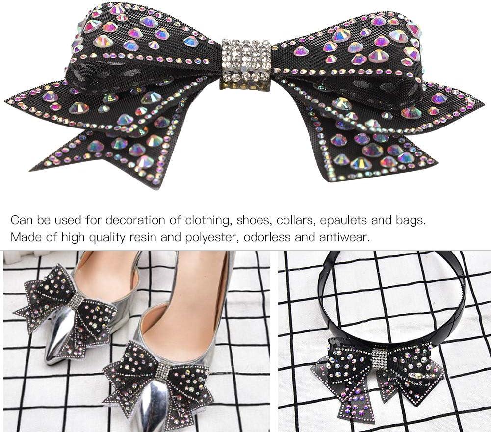 4 pi/èces strass pinces /à chaussures Bowknot cristal pince /à chaussures d/écorations de chaussures Clips accessoires pour robe de mari/ée v/êtements ou accessoires de cheveux chaussures