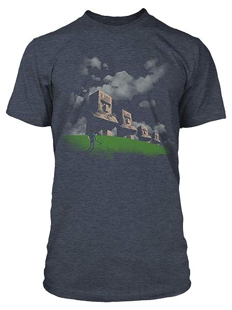 Minecraft Men's Statues Premium T Shirt