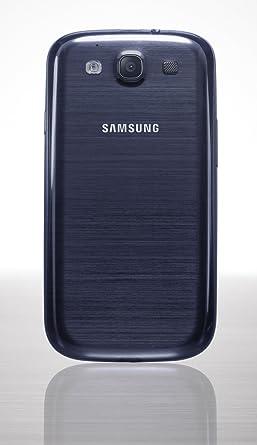 samsung galaxy s3 blue. original samsung galaxy s3 siii pebble blue battery back cover - d\u0026r electronix