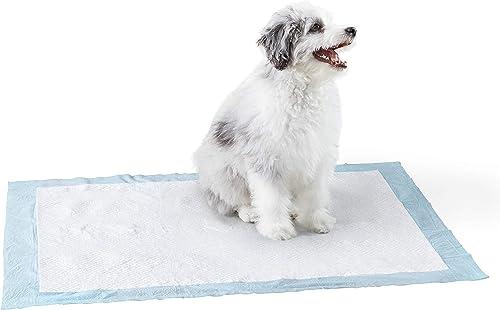 Amazon-Basics-Dog-and-Puppy-Pee,-Heavy-Duty-Absorbency-Potty-Training-Pads