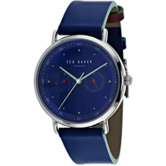 2c95eefef555 Image Unavailable. Image not available for. Color  Watch Ted Baker Men s  Classic ...