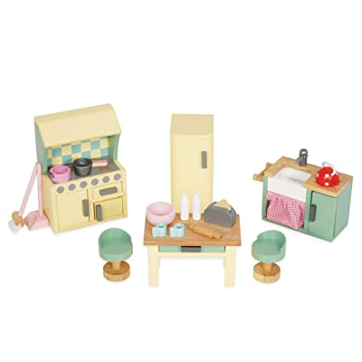Le Toy Van Daisylane Kitchen Premium Wooden Toys for Kids Ages 3 years & Up: Toys & Games