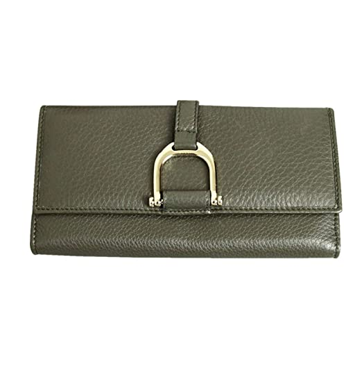 106f645f5115 Gucci Women's Continental Clutch Greenwich Leather Wallet 256940 at ...