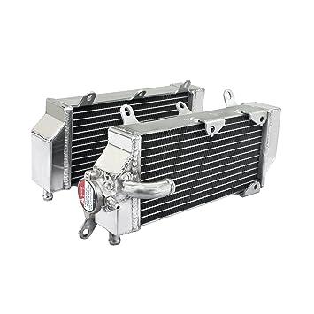 TARAZON MX Radiadores para Yamaha WR450F 2016 2017 YZ450FX 2016 2017 Motor de núcleo de aluminio