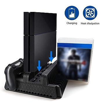 EEEKit Soporte Vertical PS4 Slim / PS4 Pro/Regular PS4 ...
