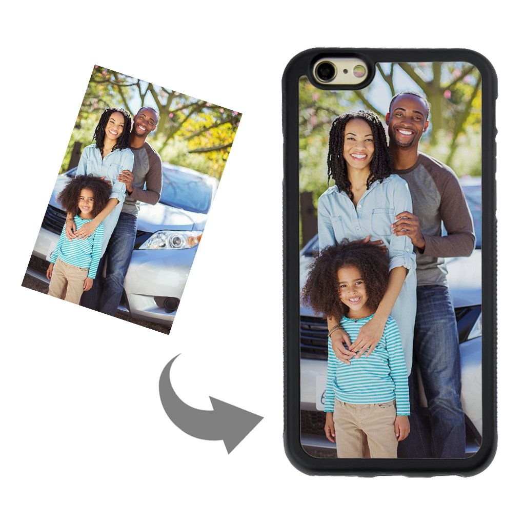 hot sale online f7e72 20ed9 Personalized Custom Phone Case for iPhone 6/6s, DIY Create Your Own Photo  Picture Design Custom Case-TPU Shock Absorbing PC Protector Carrying Case,  ...