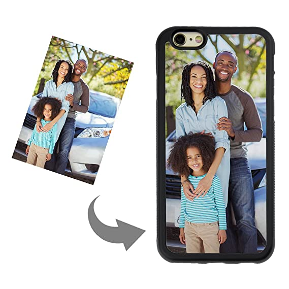 uk availability 05c1b 1b30e Customize Your Own Phone Case - Personalized Photo/Text/Logo Back Cover  Case for iPhone 6/6s,Birthday/Xmas/Valentines Gift for Her and Him