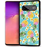 for Samsung S8, Galaxy S8, Durable Protective Soft Back Case Phone Cover, HOT12667 Pineapple Tropical 12667
