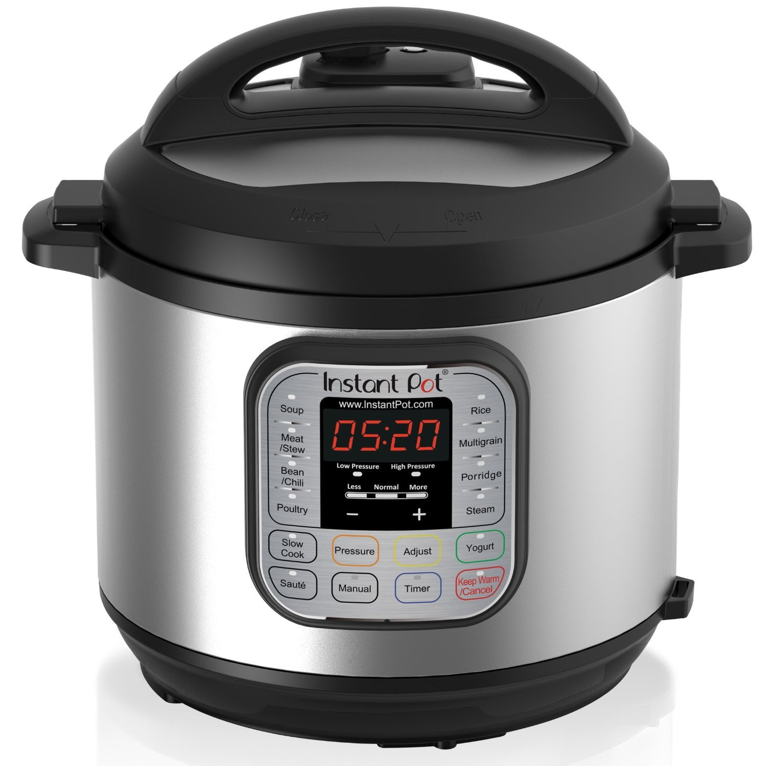nstant Pot IP-DUO60 7-in-1 Multi-Functional Pressure Cooker, 6Qt/1000W