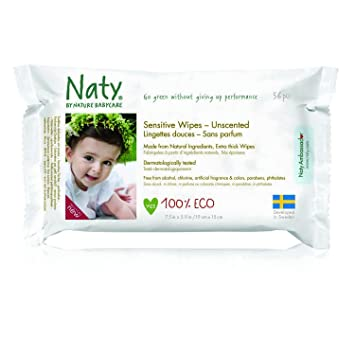 Nature Babycare Fragrance Free Baby Wipes 24 count