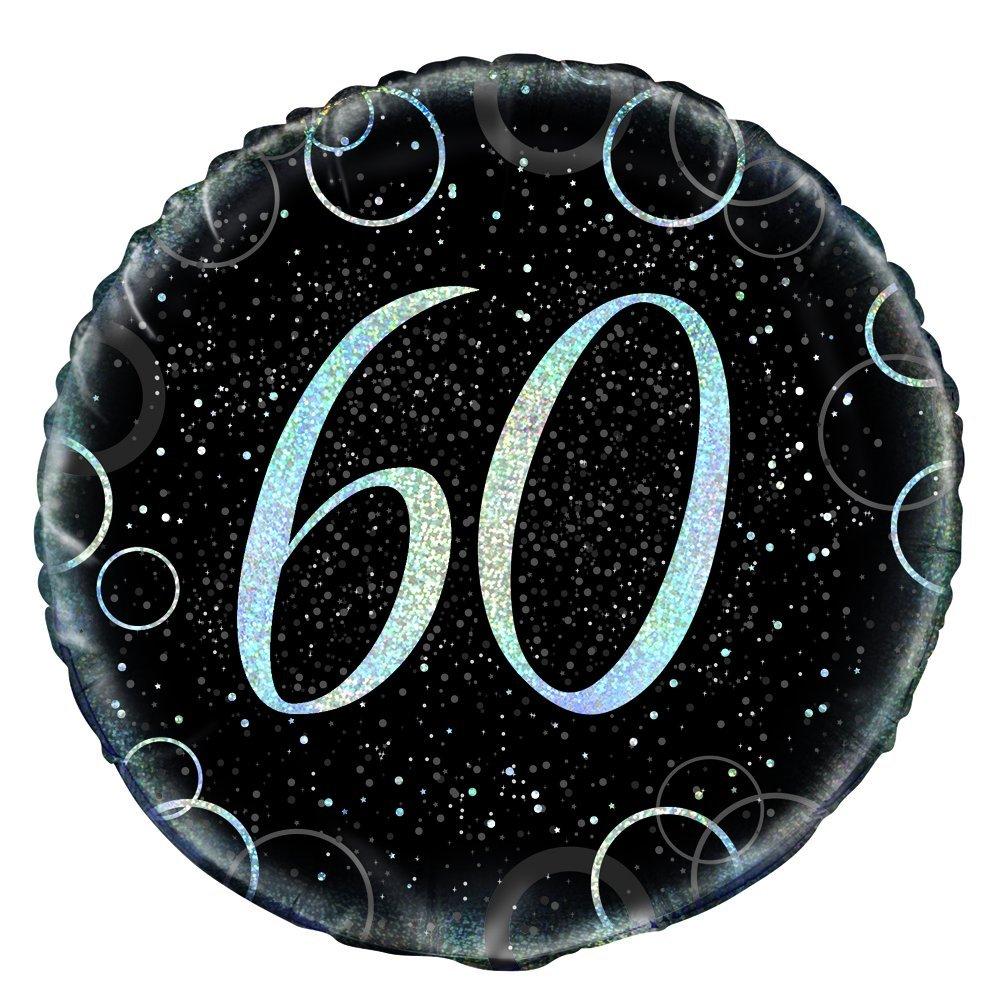 57493 Color Dorado met/álico Brillante Unique Party Paquete de 16 servilletas de Papel de 60 cumplea/ños